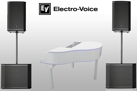 Electro voice EKX geluidsset