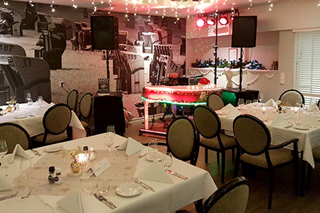 kerst entertainment restaurant