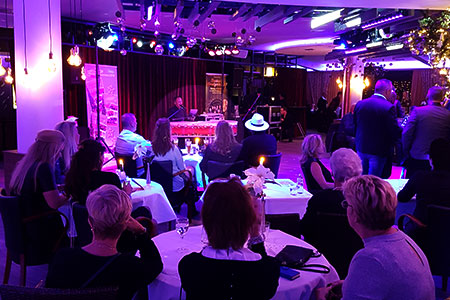 live muziek restaurant - kerst
